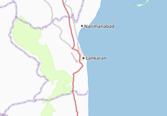 Kaart Plattegrond Lankaran