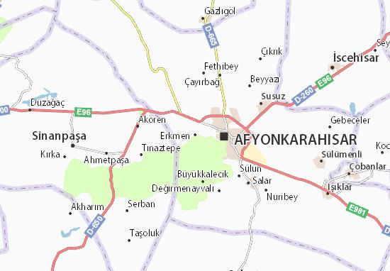 Erkmen Map