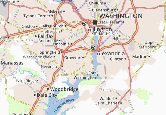 Groveton Map