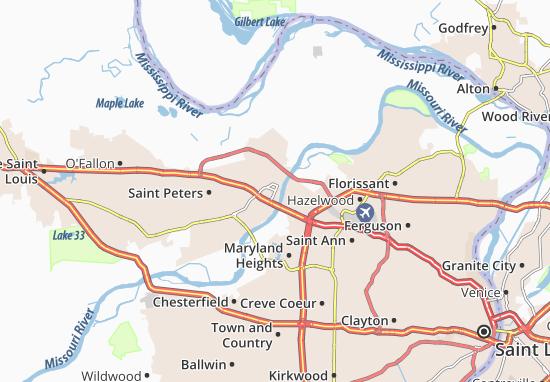 Saint Charles Map