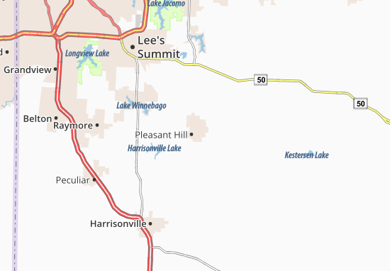Pleasant Hill Map