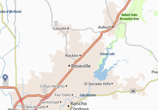 Rocklin Map