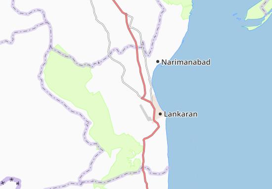 Kaart Plattegrond Girdani