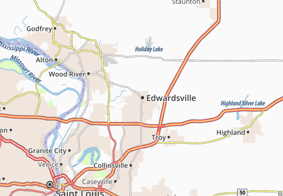 Edwardsville Map