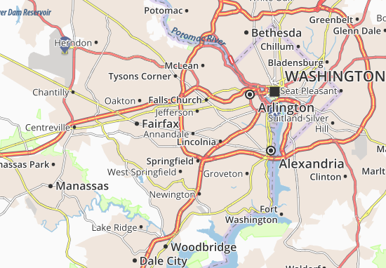 Annandale Map
