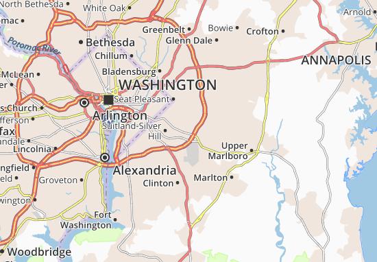 Forestville Map