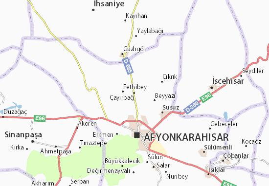 Çayırbağ Map