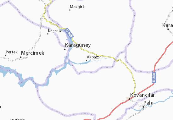 Carte-Plan Akpazar