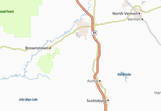 Dudleytown Map