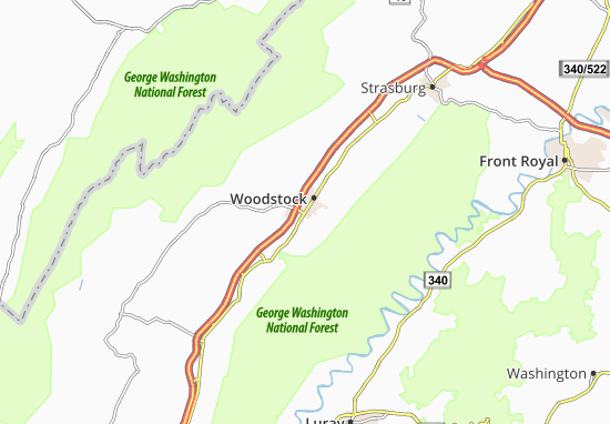 Woodstock Map