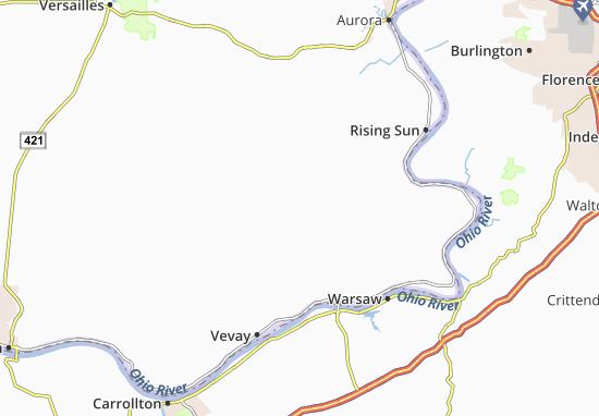 Carte-Plan Allensville