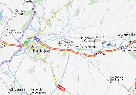 Mapas-Planos Talavera la Real