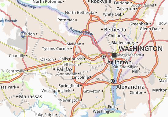 Falls Church Virginia Map.Falls Church Map Detailed Maps For The City Of Falls Church
