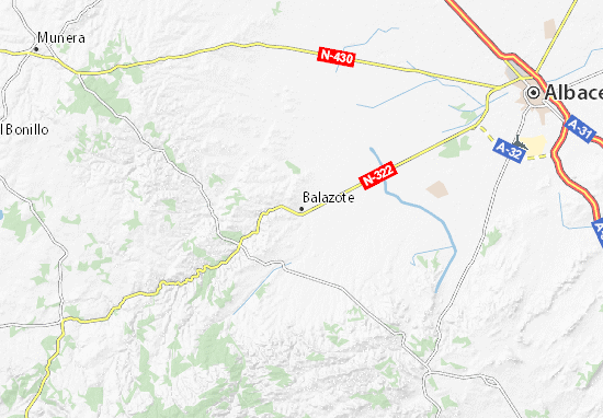 Mapas-Planos Balazote