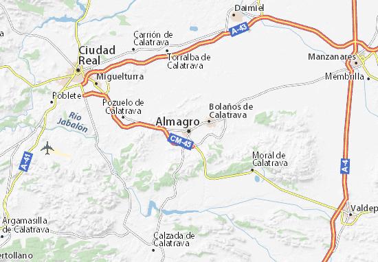 Almagro Map