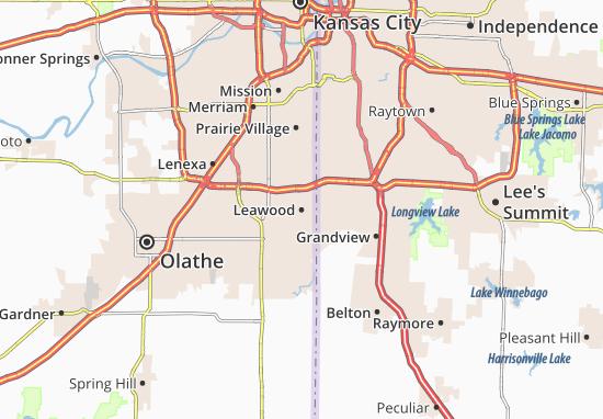 Leawood Map