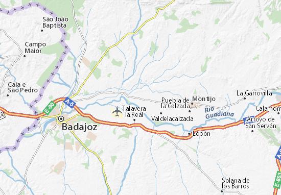 Mapas-Planos Pueblonuevo del Guadiana