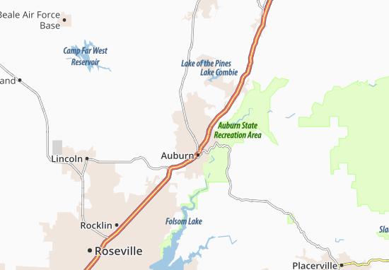Mapas-Planos North Auburn