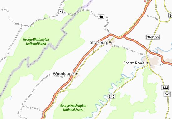 Maurertown Map