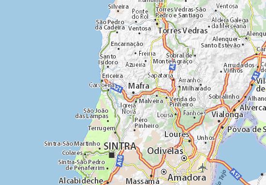 Mapa Plano Mafra