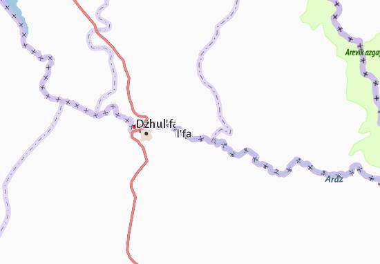 Kaart Plattegrond Yaydzhi