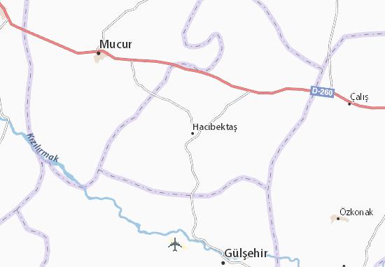 Hacıbektaş Map