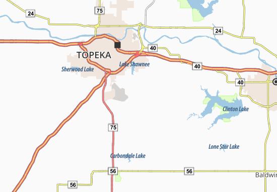 Berryton Map
