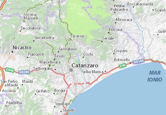 Mappe-Piantine Crichi