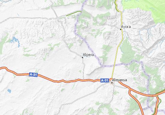 Carte-Plan Alpera