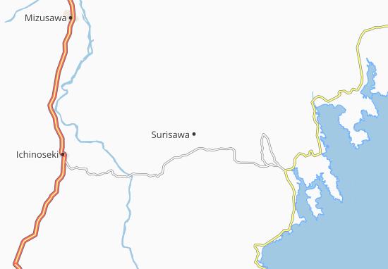 Surisawa Map
