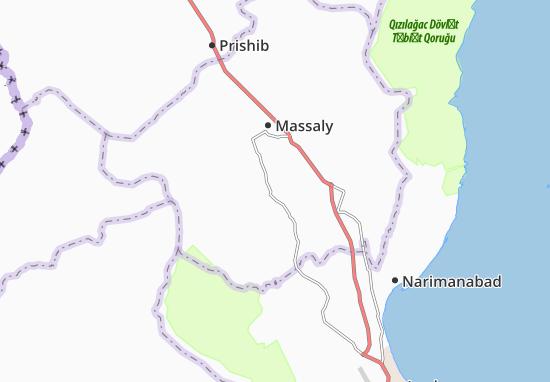 Kaart Plattegrond Kyzylavar
