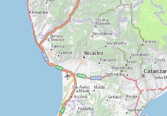 Mappe-Piantine Nicastro