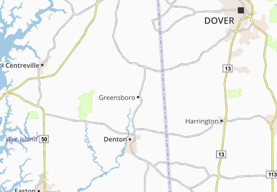 Mappe-Piantine Greensboro