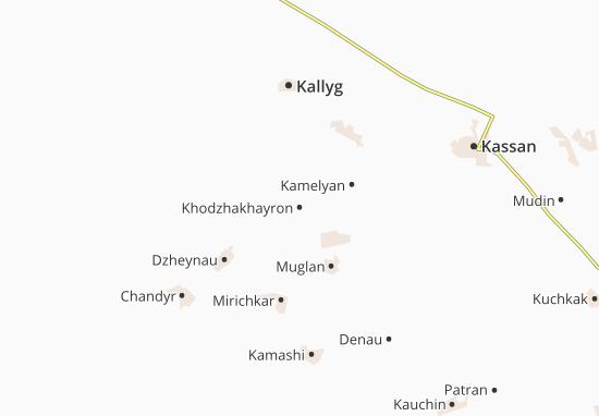 Mapas-Planos Khodzhakhayron