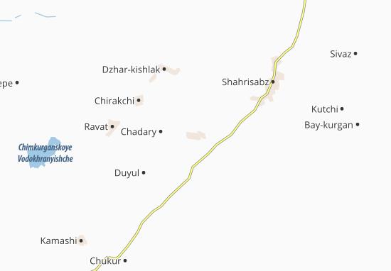 Mapas-Planos Yakkabag