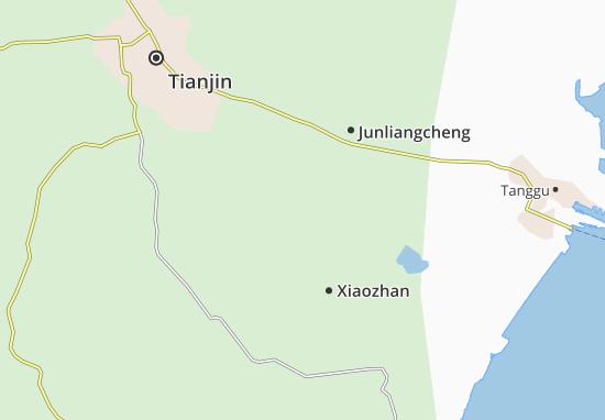 Xianshuigu Map