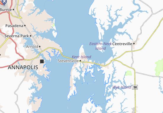 Carte-Plan Stevensville