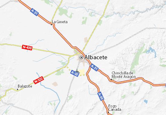 Mapas-Planos Albacete