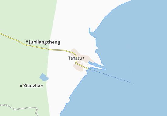 Kaart Plattegrond Tanggu