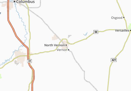 Mappe-Piantine North Vernon