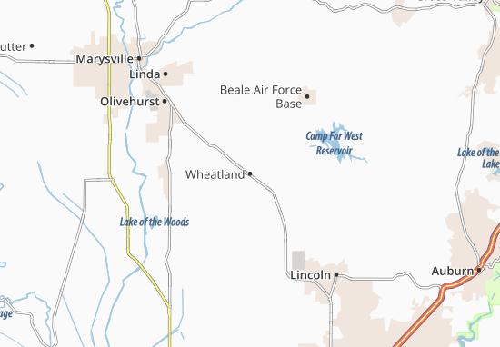 Wheatland Map