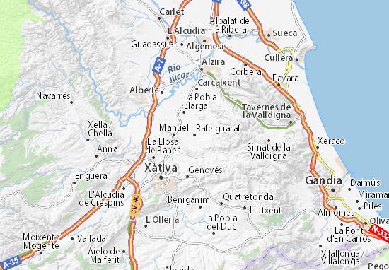 Mapas-Planos Rafelguaraf