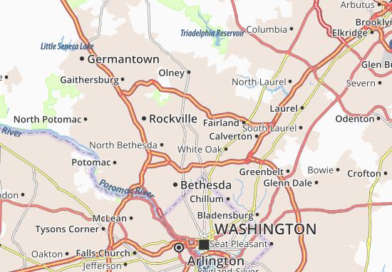 Wheaton-Glenmont Map