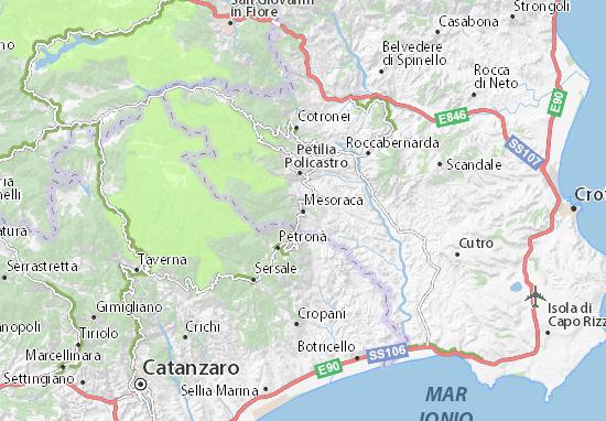 Mappe-Piantine Mesoraca
