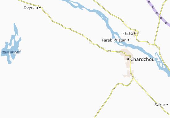 Mapa Plano Yazdepe