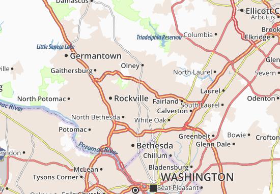 Aspen Hill Map