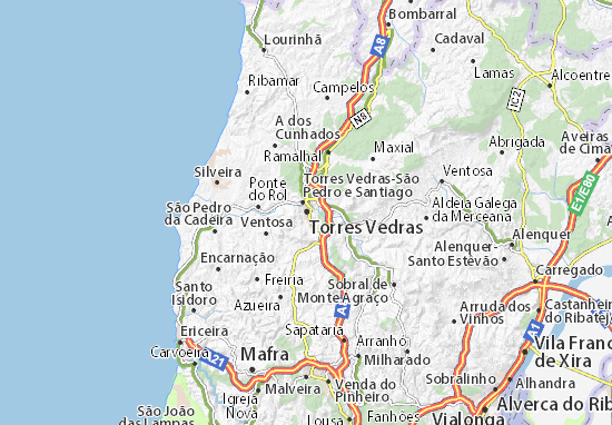 Mappe-Piantine Torres Vedras