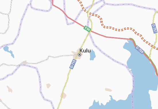 Mapa Kulu