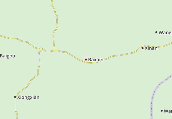 Mapa Baxain