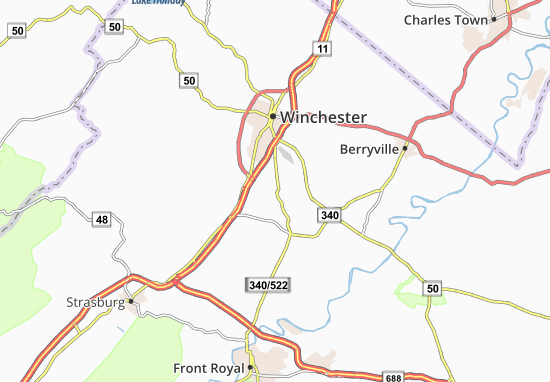 Carte-Plan Parkins Mills